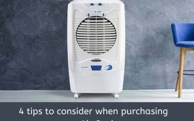 4 Tips To Consider When Purchasing An Air Cooler